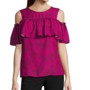 Worthington fLORAL bLOUSE  nEW WITH TAGS